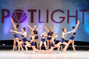 Showbiz Academy of Dance Colors Senior Team