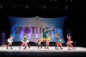 Showbiz Academy of Dance Elf Musical Theatre